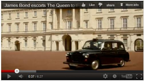 Fairway Taxi makes the Olympic opening ceremony complete